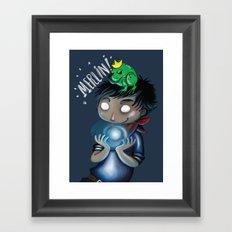 Merlin!!! Framed Art Print