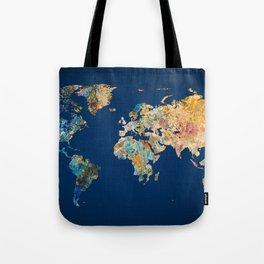 World Map 11 Tote Bag