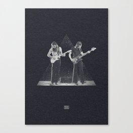 Roger & David Canvas Print