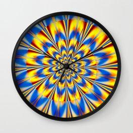 Flashing Star Wall Clock
