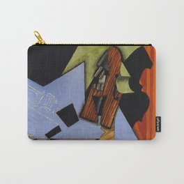 "Juan Gris ""Violin and Playing Cards on a Table"" Carry-All Pouch"