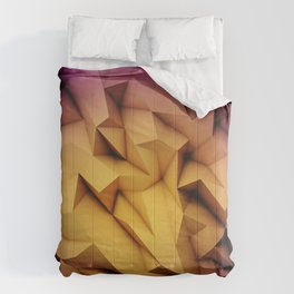 Colored crystal formation Comforters