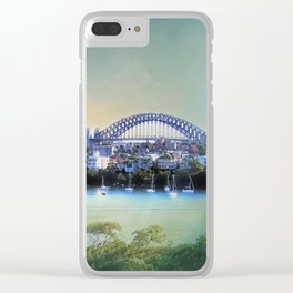 Sydney - The Harbour City Clear iPhone Case