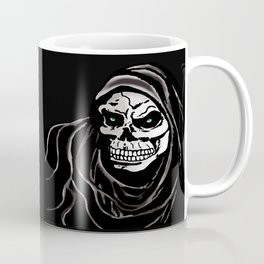Grim Death reaper Halloween death skull horror day Coffee Mug