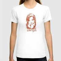bjork T-shirts featuring Auntie Bjork by The Babybirds