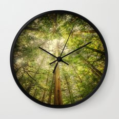 Forest Tree Tops Wall Clock