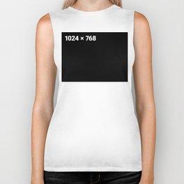 1024 x 768 black panel Biker Tank
