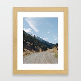 Pray, Montana Framed Art Print