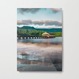 Hanalei Pier Kauai Hawaii  Metal Print