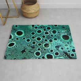 Green Condensation Rug