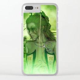 Wonderful fairy Clear iPhone Case