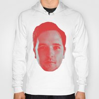chad wys Hoodies featuring Chad Head by Blake Makes Tees