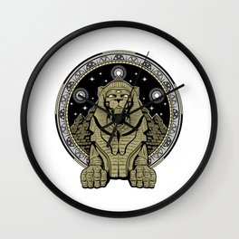 The Lion Age Wall Clock