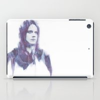 jack white iPad Cases featuring Jack by Alec Hawkins