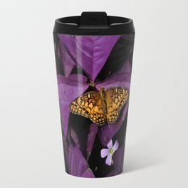 Purple Oxalis 2 Travel Mug