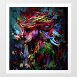 hunter Art Print