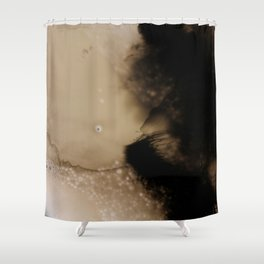 Ink Froth Shower Curtain