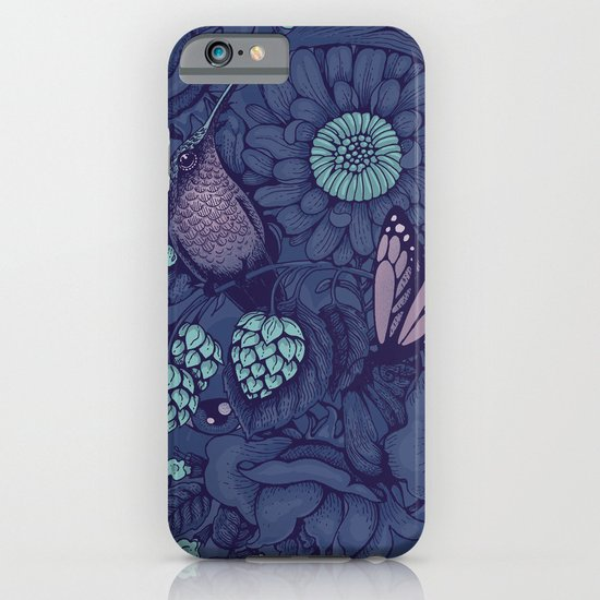 Beauty (eye of the beholder) - neon version iPhone & iPod Case