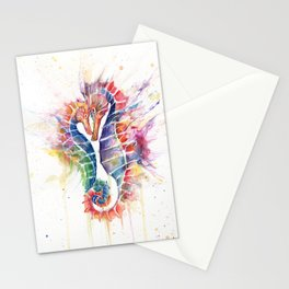 Sanguine Seahorses Stationery Cards