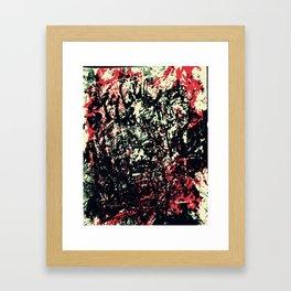 We Got Messed Up Framed Art Print