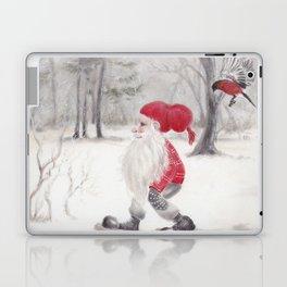 Gnome and bullfinch Laptop & iPad Skin