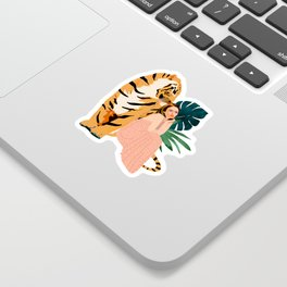 Tiger Spirit Sticker