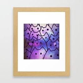 cats-142 Framed Art Print