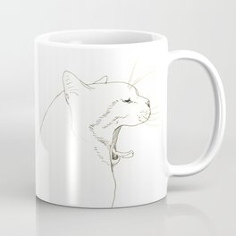 yawn Coffee Mug