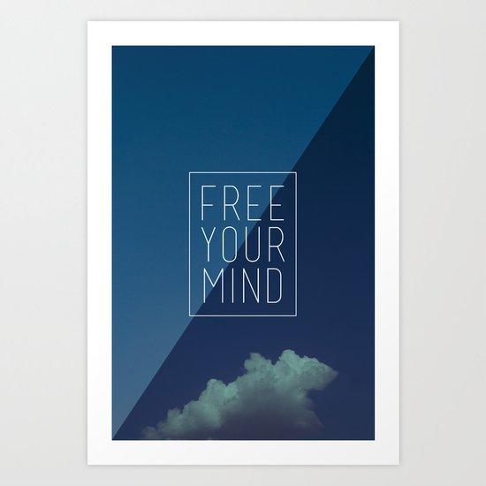 Free Your Mind II Art Print
