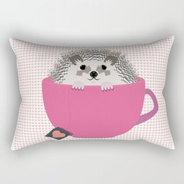 Valentine Heart Hedgehog Rectangular Pillow