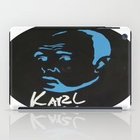 karl iPad Cases featuring Karl Pilkington  by All Surfaces Design
