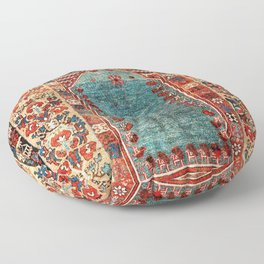 Kurdish East Anatolian Niche Rug Print Floor Pillow