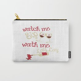 Watch me lay Carry-All Pouch