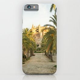 Palma de Mallorca- Travel Photography- The Cathedral in Mallorca iPhone Case