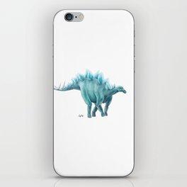 Blue Stegosaurus iPhone Skin