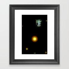TAN Framed Art Print