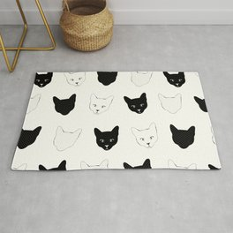Cat Pattern Rug