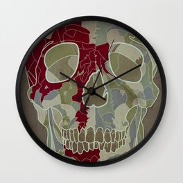 Road Map to Hell Wall Clock