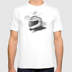 Archeo Speed SMALL White Mens Fitted Tee