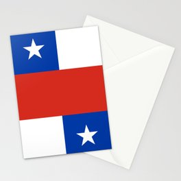 Chile Flag Stationery Cards