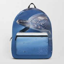 Dolphins and bubbles Backpack
