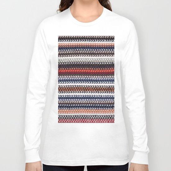 Texture laine Long Sleeve T-shirt