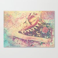 converse Canvas Prints featuring Converse by Nechifor Ionut