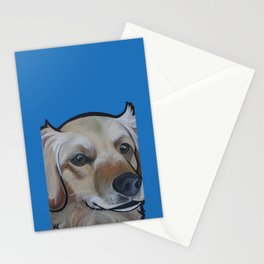 Josie (blue) Stationery Cards