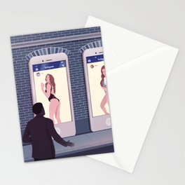 Very open Profiles Stationery Cards