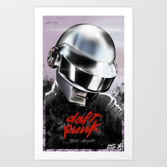 Daft-er Art Print