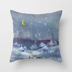Winter magic Throw Pillow