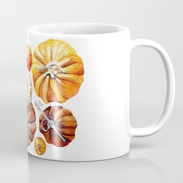 pumpkin orange Coffee Mug