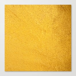 Yellow background Canvas Print