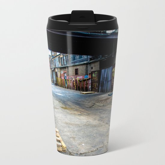 Mean Streets Metal Travel Mug